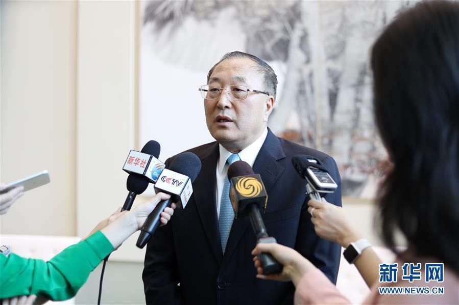 (国际)(2)中国新任常驻联合国代表:坚定维护发展中国家合法权益