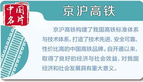 """高铁""""标杆"""" 中国制造:京沪高铁串联省市 促进地方经济发展"""