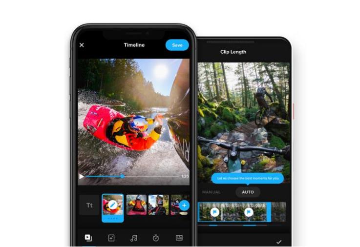 GoPro更新GoPro APP,整合Quik功能