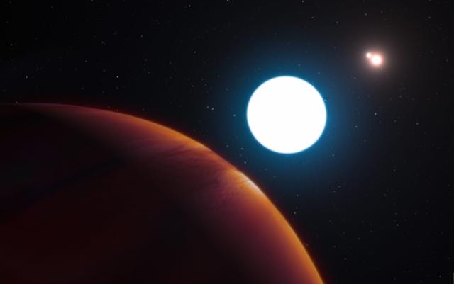 新发现类地行星围绕三个太阳 距地球仅22.5光年