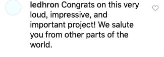 祝贺这项令人震撼的伟大工程!来自世界各地的我们对此表示致敬。