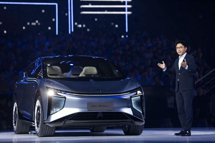 華人運通首款量產定型車高合HiPhi 1首發 明年試生產