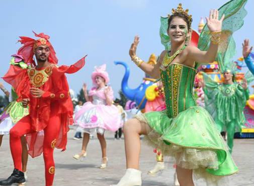来自古巴的舞者