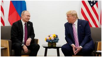 谈起打给普京称愿协助灭火的那通电话,特朗普:简短,但不错