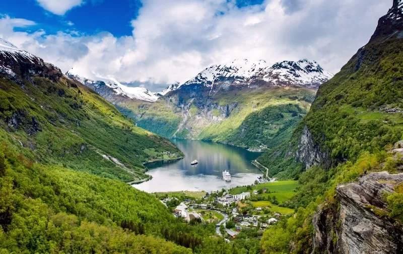 世界上最美的国家之一 每一处风景都像画