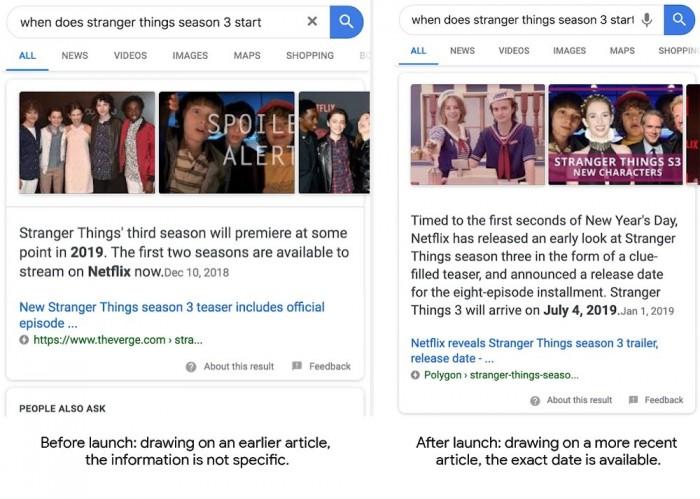 """Google为""""精选摘要""""更新算法:让得到的结果关联性更强"""