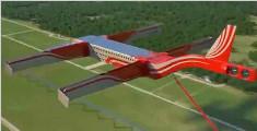 """俄罗斯发明""""风筝飞机"""",想上天得放线,还是上下两层!"""