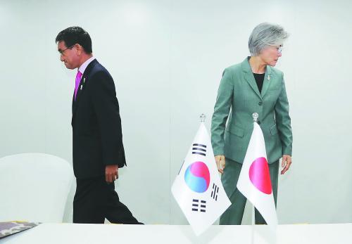 """韩日外长谈崩,青瓦台做""""最坏准备"""""""