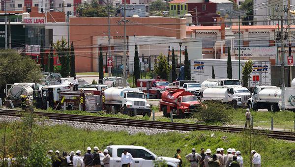 墨西哥发生天然气泄漏事件 周边民众被疏散