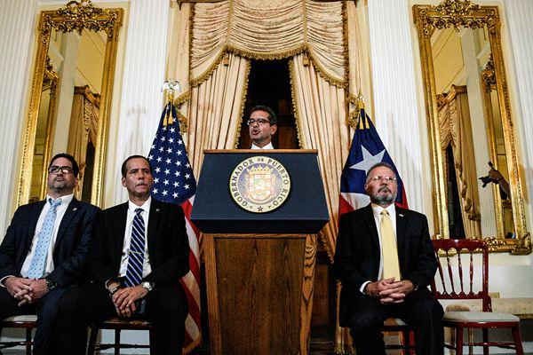 波多黎各新提名总督宣誓就职 民众欢庆罗塞略离职