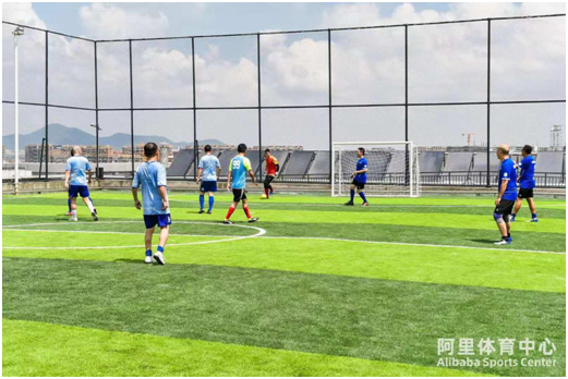 阿里體育第一館:球場與天空的距離有多遠?