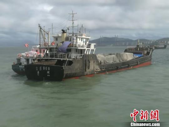 福建平潭海域一船觸礁 7名遇險船員獲救