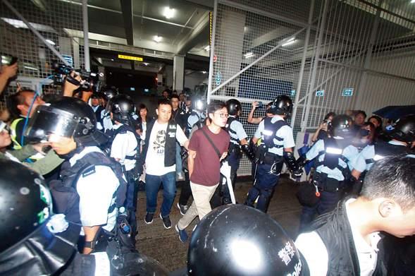 人民日報海外版:堅決支持特區政府止暴制亂