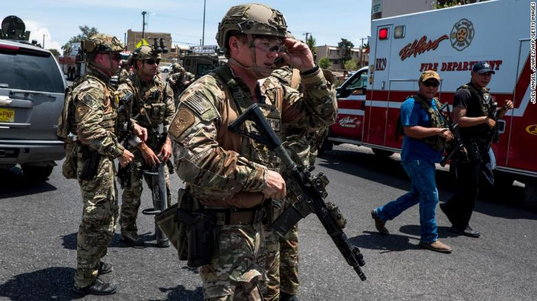 美国得克萨斯州枪击案致至少19死 特朗普回应:非常糟糕