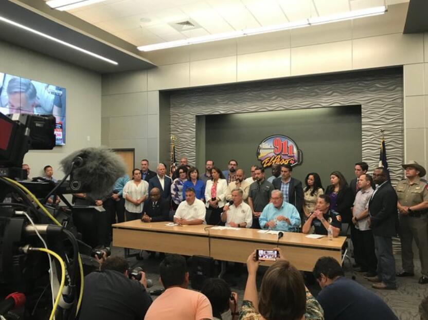 美得州举行发布会:枪击案造成20人死亡,超24伤