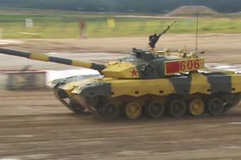 坦克大賽打響 中國隊出戰首場小組賽無懸念奪冠