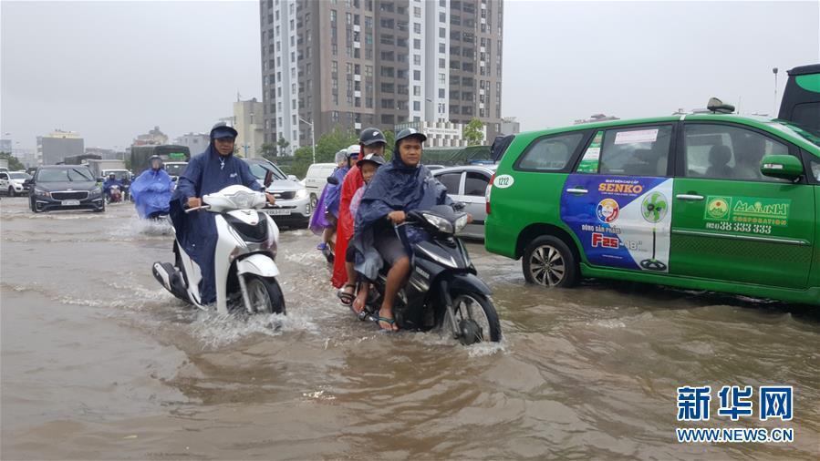 """台风""""韦帕""""登陆越南 已造成5人伤亡15人失踪"""