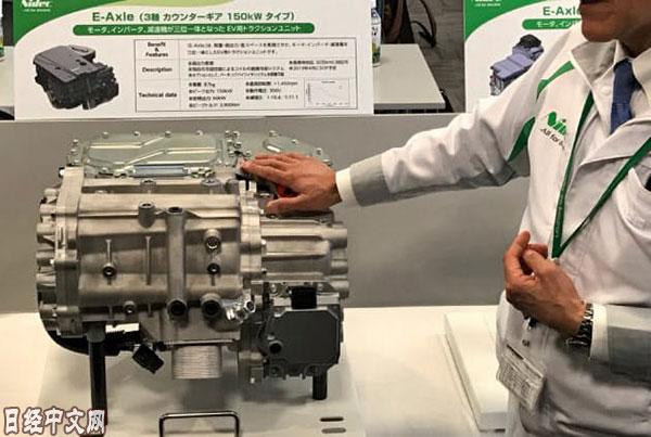 日本电产将与广汽合作开发生产纯电动车用电机