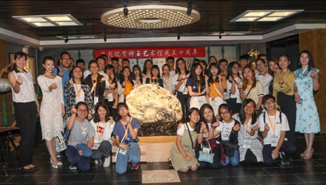 香港青年学生参访神玉艺术馆 爱港爱国寻中华文化之根