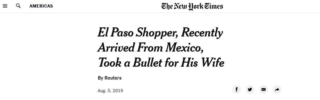 感人!美国得州枪击案现场,77岁老人扑向妻子为其挡枪