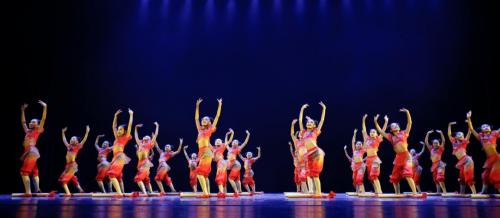 少兒舞蹈融合秧歌漁鼓 發揚傳承非物質文化遺產