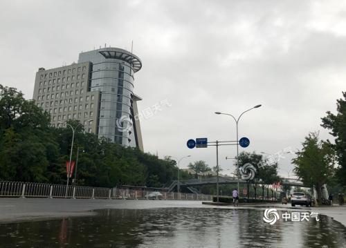 """强降雨继续""""霸屏""""!今日北京局地仍有暴雨"""