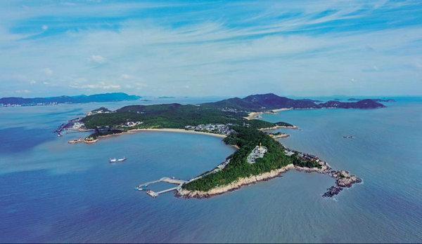 浪鼓岛屿风景图片