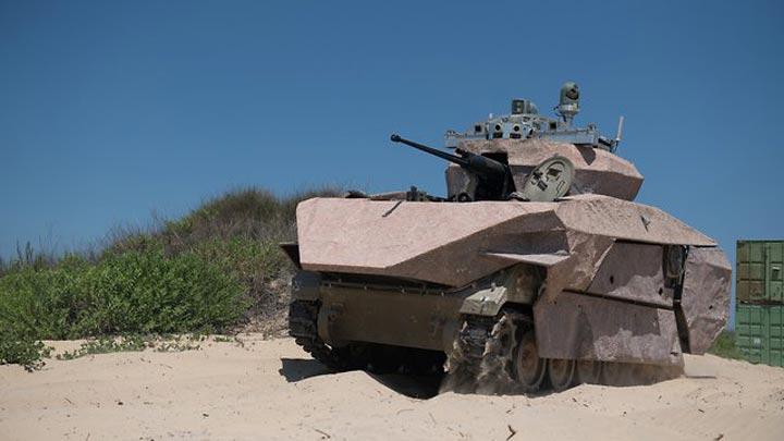 太科幻了!以色列一次展示3款未来坦克原型车