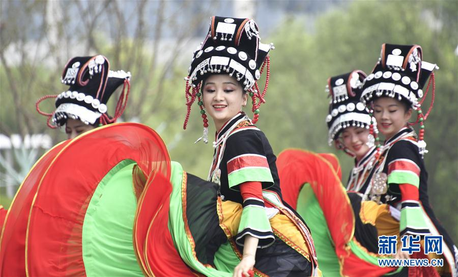 """北京世园会""""贵州日""""刮起""""最炫民族风"""""""