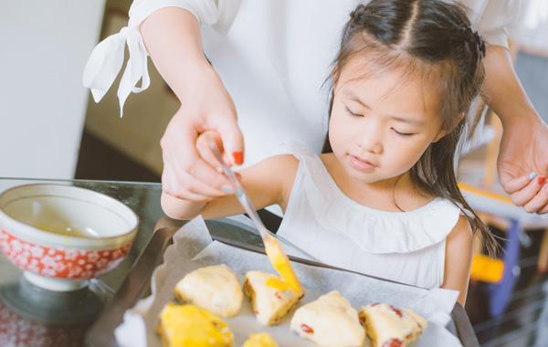 暑假,教孩子下厨房
