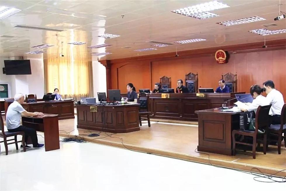 涉嫌受贿112万!广西来宾市人民医院原副院长谢于良当庭认罪悔罪