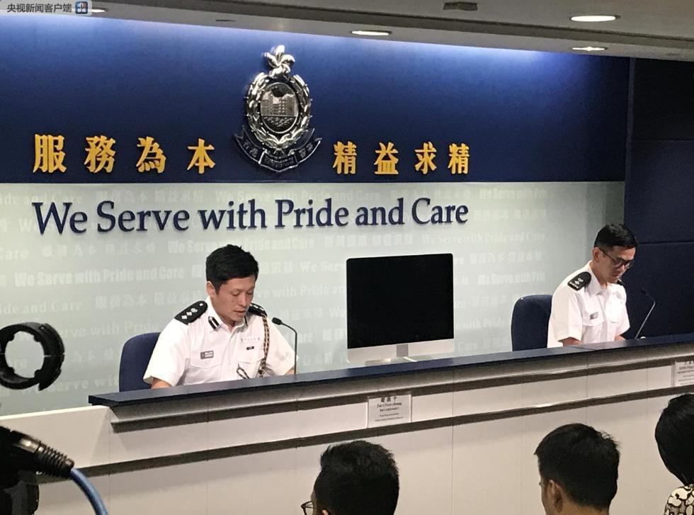 莒南警视六合王睿 肯定唱响香港警方在5号多区暴力违法活动中共逮捕148人 7名警员受伤