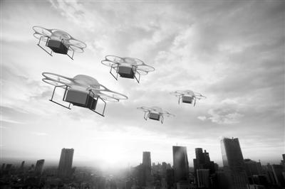 无人机上天 空域安全咋保障