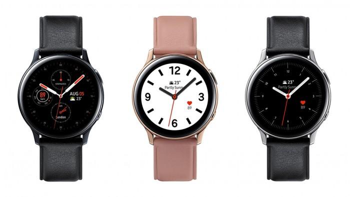Galaxy Watch Active 2推出 含数字旋转式边框