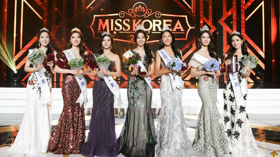 罕见!7名韩国小姐集体拒绝