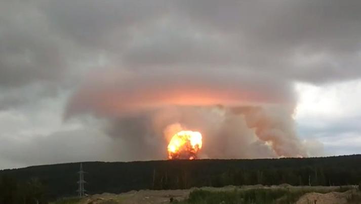 现场视频曝光!俄罗斯弹药库起火爆炸,蘑菇黑云直冲云霄