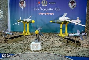 伊朗展示多款国产制导导弹 自称性能强大