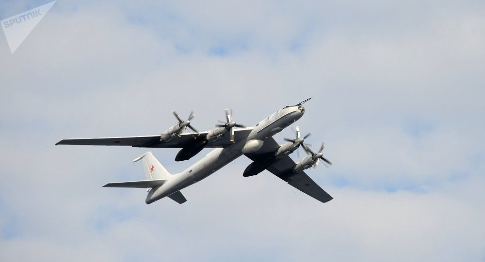 俄军最大反潜机在太平洋上空连续飞行13小时