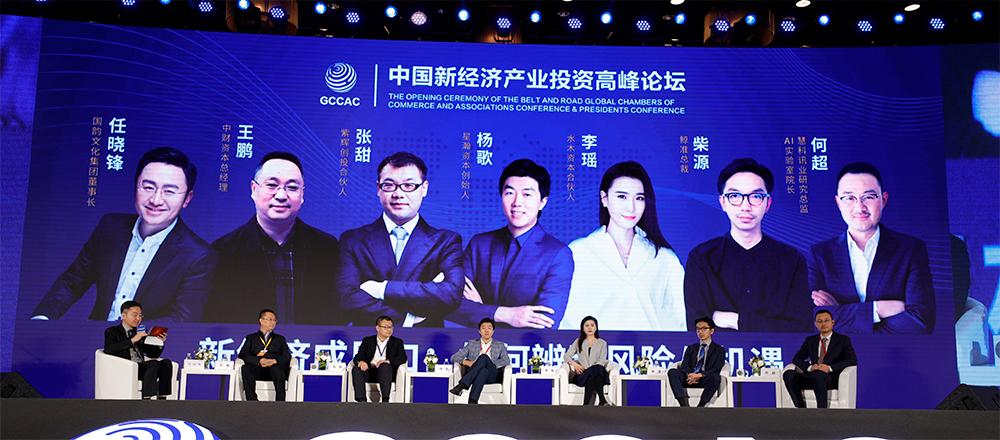 中国新经济产业投资高峰论坛