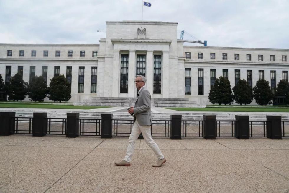 这是7月31日在美国华盛顿拍摄的美国联邦储备委员会大楼。新华社记者刘杰摄
