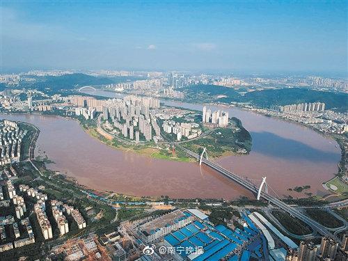 72.08米!邕江南宁段出现今年入汛以来最大洪峰
