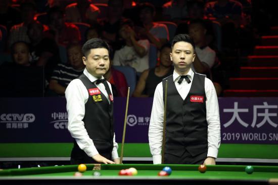 丁俊晖、梁文博晋级国锦赛第3轮 中国德比再上演
