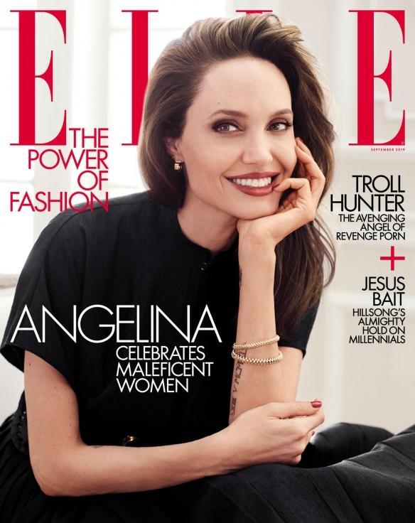 女神44岁气场依旧强大!安吉丽娜朱莉最新杂志写真