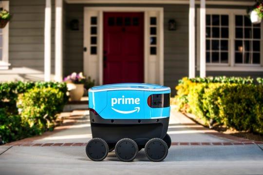 亚马逊自动驾驶送货机器人Scout将登陆加州