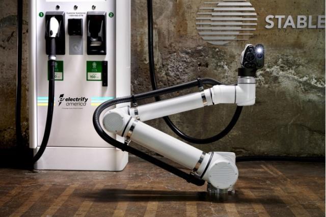 大众加码自动驾驶 推出专属全自动无人充电服务
