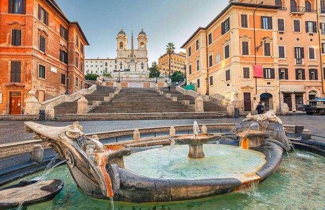 这个景点的台阶不要坐!罗马出新规整治游客不文明行为