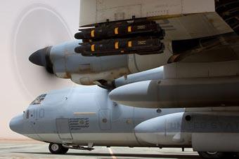 """美军最强""""空中炮艇""""实战部署 已装备导弹"""