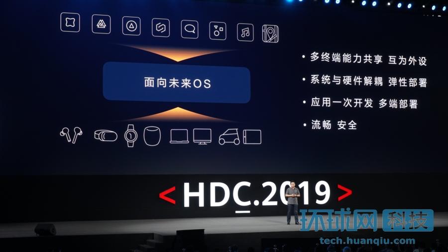 華為開發者大會:鴻蒙操作系統正式發布