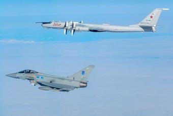 美英日加接连出动 俄空军本周遭四国军机拦截