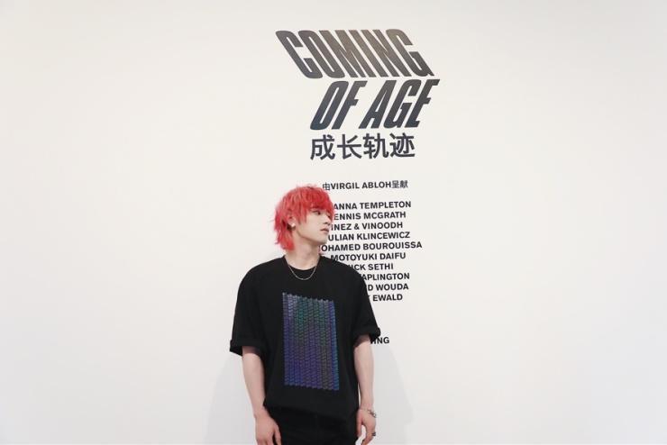 """太一出席Louis Vuitton艺术展 """"成长轨迹""""碰撞音乐"""